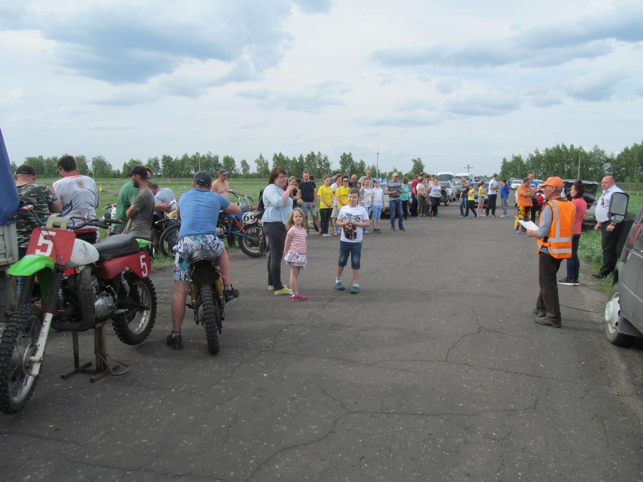 В Уваровском районе тамбовские мотогонщики определили сильнейших