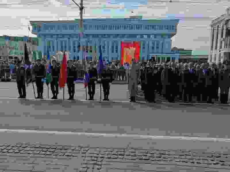 Ветераны боевых действий спустя 20 лет участвовали в параде 9 мая