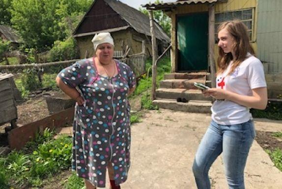 """Волонтеры-медики провели акцию """"Добро в село"""" в Инжавинском районе"""