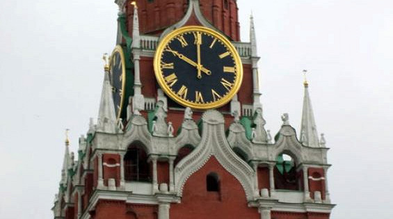 Время вКурске иМоскве разнится напять споловиной минут