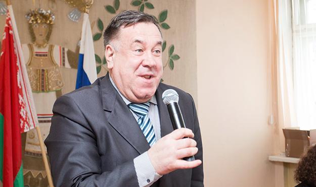 Юбилей отметил директор кадетского корпуса Николай Хворов