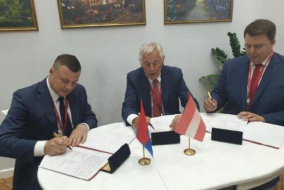Александр Никитин подписал соглашение в Санкт-Петербурге