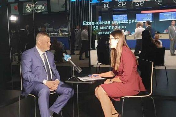 Александр Никитин подвел предварительные итоги ПМЭФ-2019