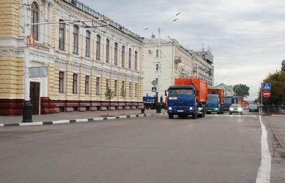 Через Тамбов пройдёт первый в России автопробег мусоровозов