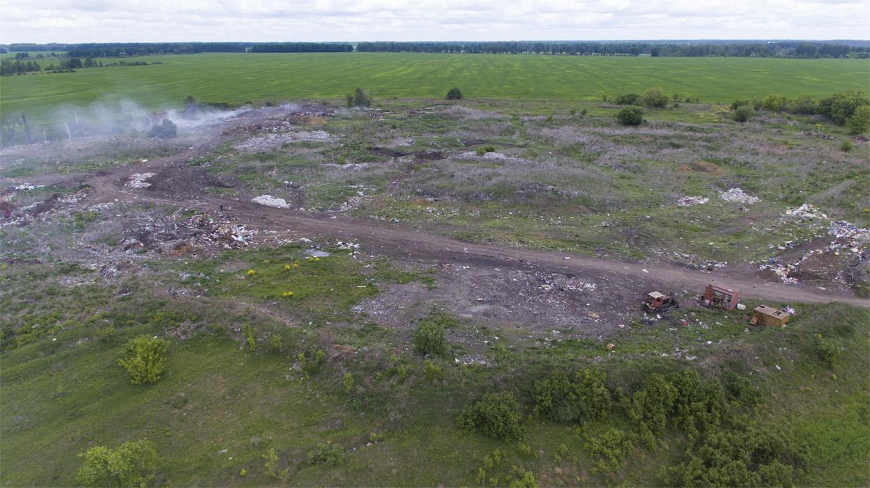 Дым отечества: по всей Тамбовской области горят свалки
