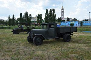Ко Дню города в Тамбов привезли «Катюшу» и ЗиС-5