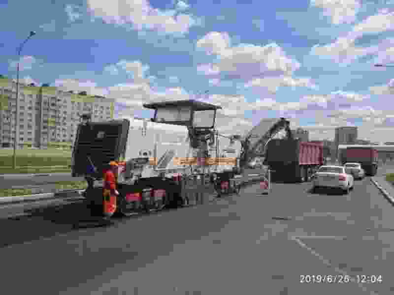 На севере Тамбова подрядчик всё-таки приступил к гарантийному ремонту дорог