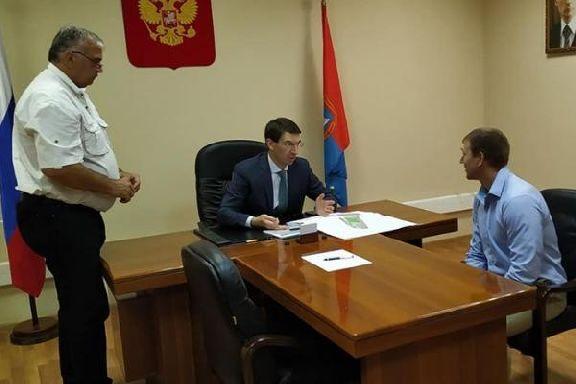 Полпред Игорь Щеголев провел в Тамбове личный прием граждан