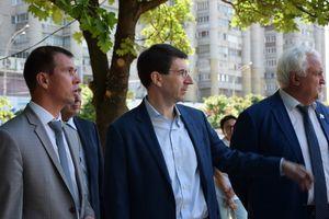 Полпред Президента в ЦФО Игорь Щеголев оценил реконструкцию сквера Льва Толстого в Тамбове