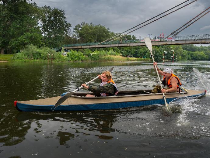В Мичуринске прошли соревнования на байдарках