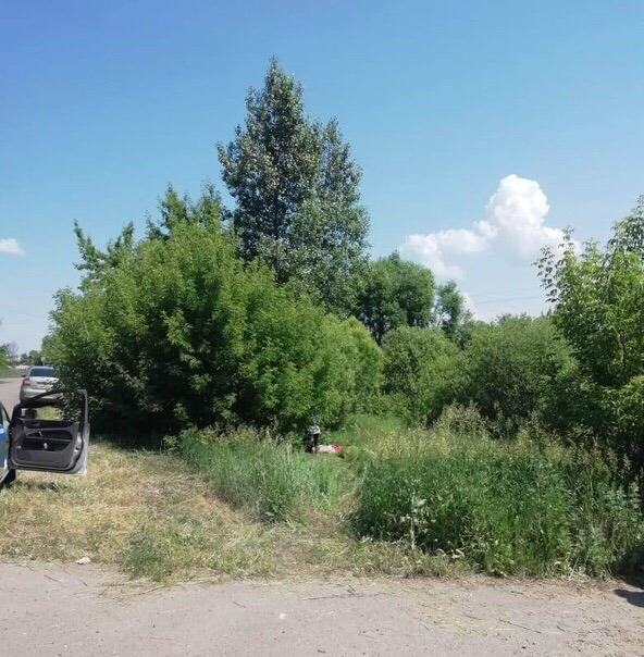 В Мичуринском районе погиб 40-летний мотоциклист