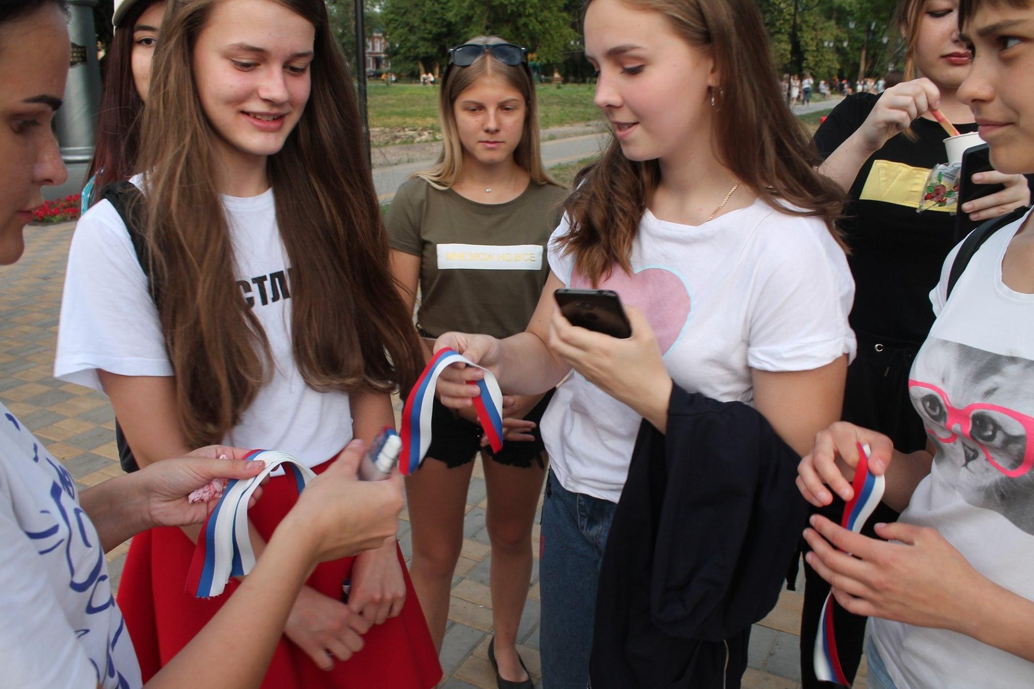 В Моршанске отметили День России