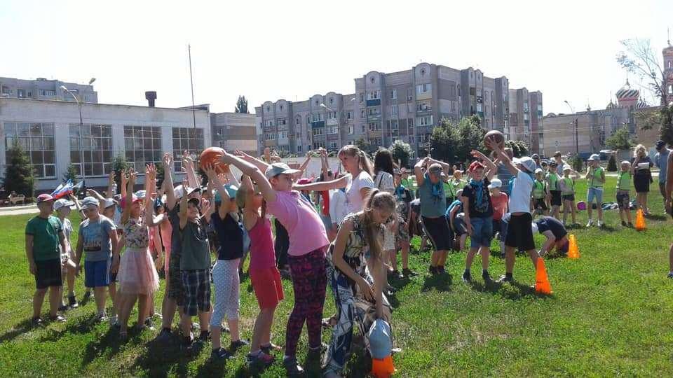 """В рамках национального проекта """"Демография"""" в Тамбове возрождают дворовый спорт"""