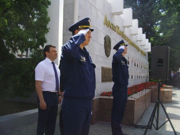 В Тамбове открыли обновленную Доску Почета