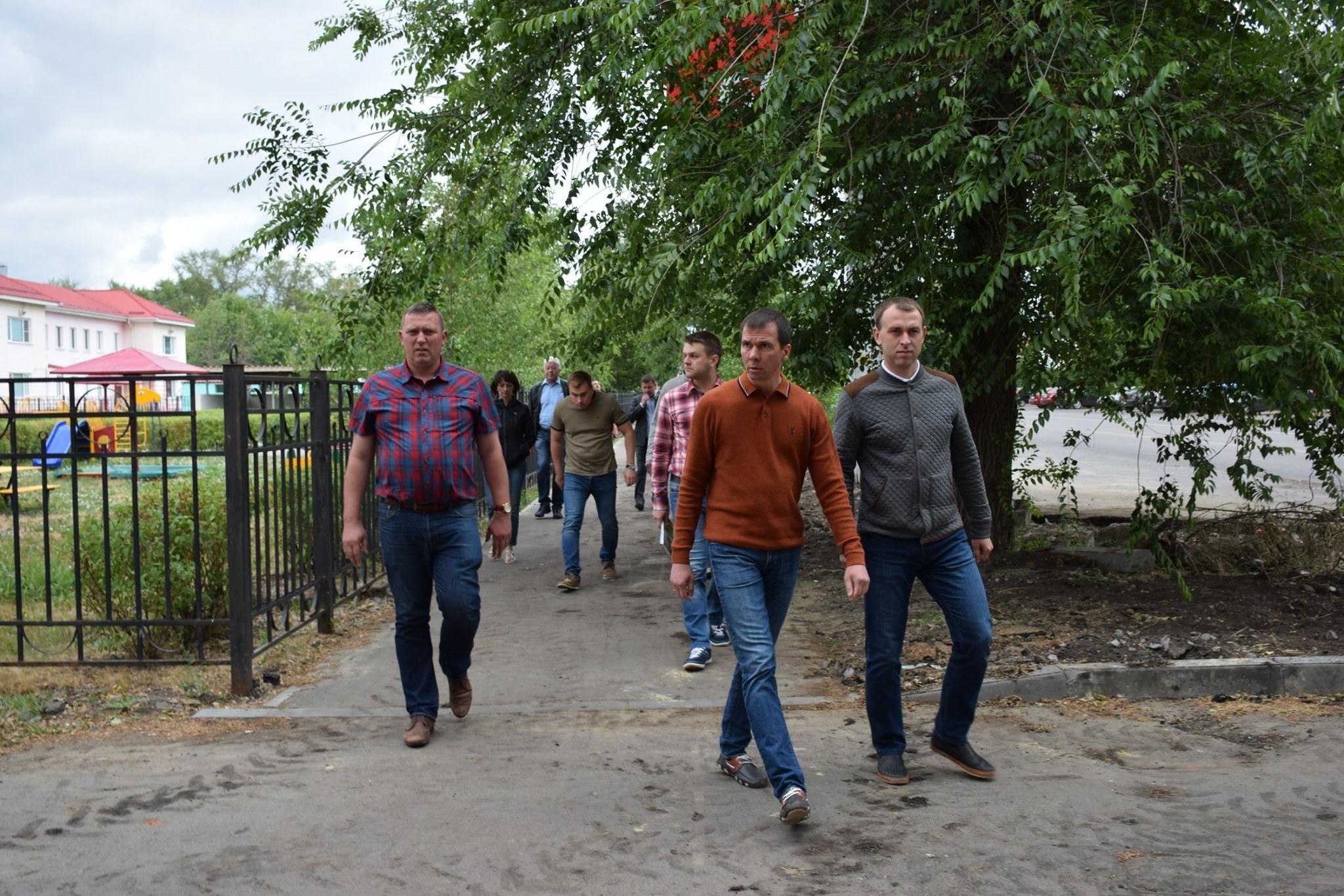 В Тамбове провели объезд городских территорий
