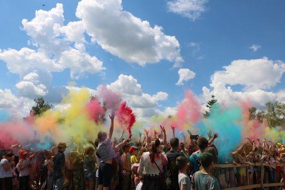 В Тамбове снова пройдет фестиваль красок