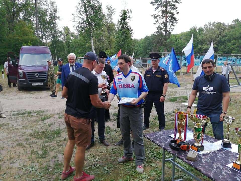 В Тамбовской области состоялся Кубок губернатора по практической стрельбе