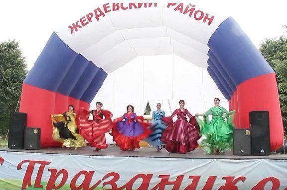 В Жердевском районе отметили День России