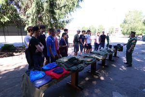Военные сборы для старшеклассников