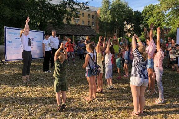 Фестиваль дворового спорта открыли в Тамбове