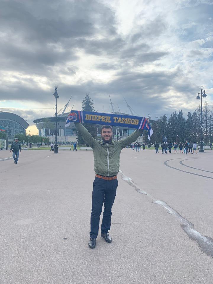 """ФК """"Тамбов"""" дебютировал в РПЛ: забил гол, но уступил """"Зениту"""""""