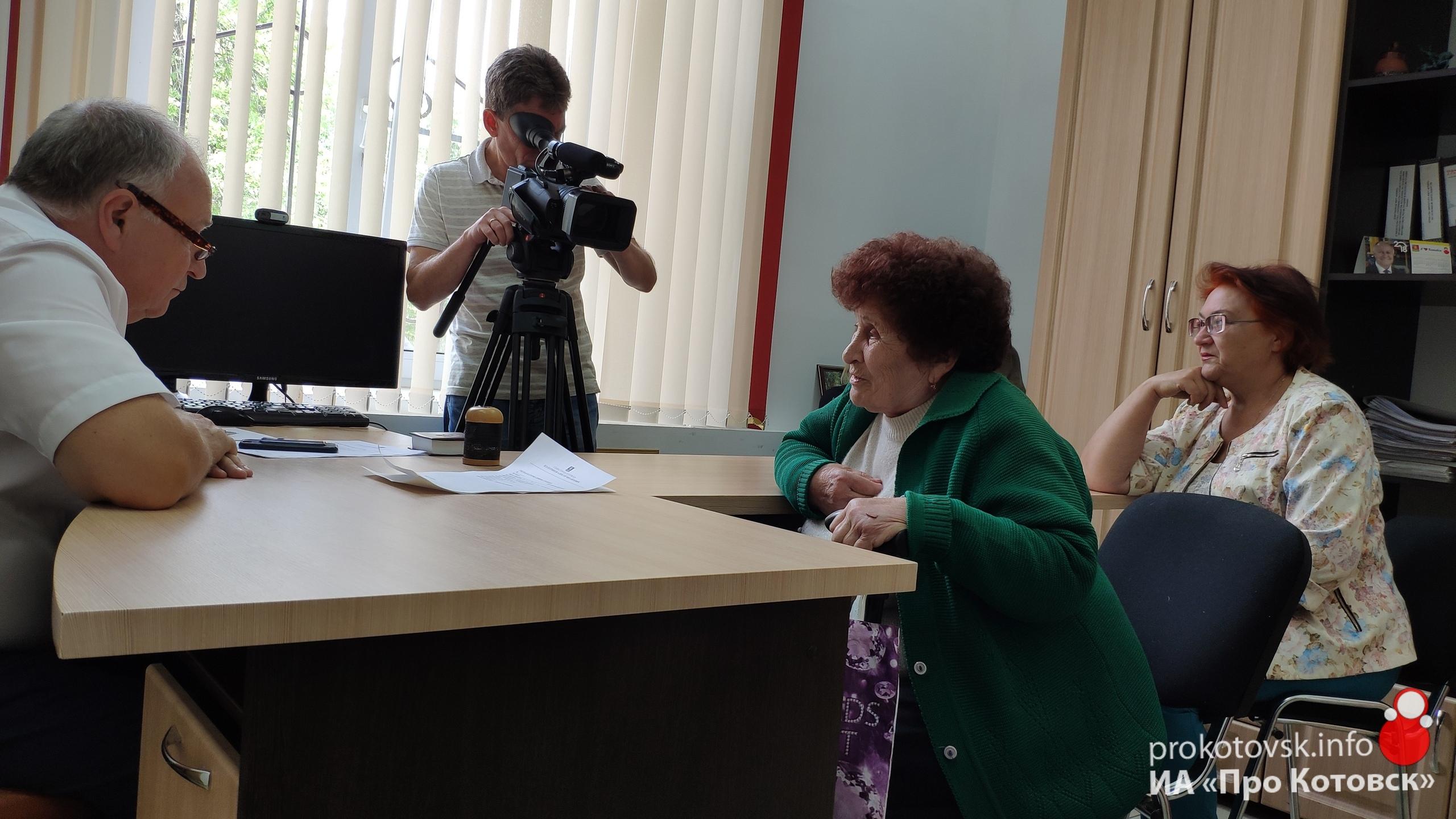 Глава Котовска Алексей Плахотников провел прием граждан в городском МФЦ