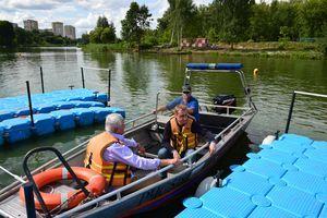 Контроль за безопасностью людей на водных объектах
