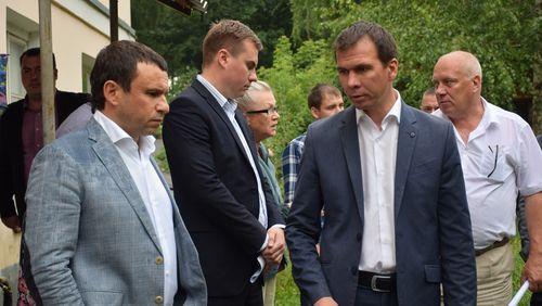 Рабочая встреча с жителями улицы Бориса Фёдорова
