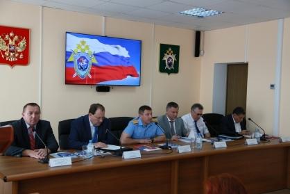 Участие Уполномоченного в расширенном заседании коллегии следственного управления СК России по Тамбовской области