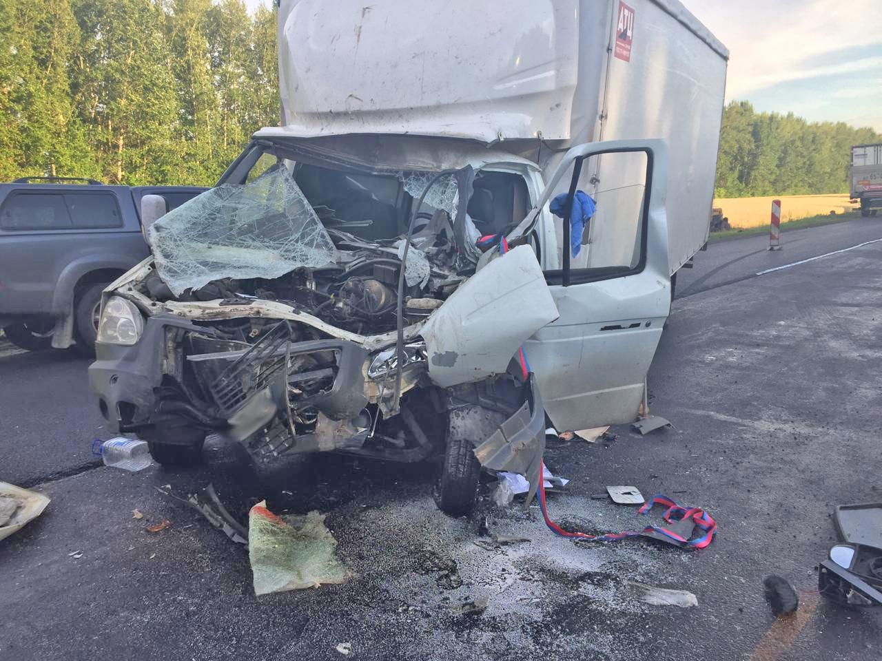 """В Мордовском районе водитель """"ГАЗели"""" врезался в иномарку"""