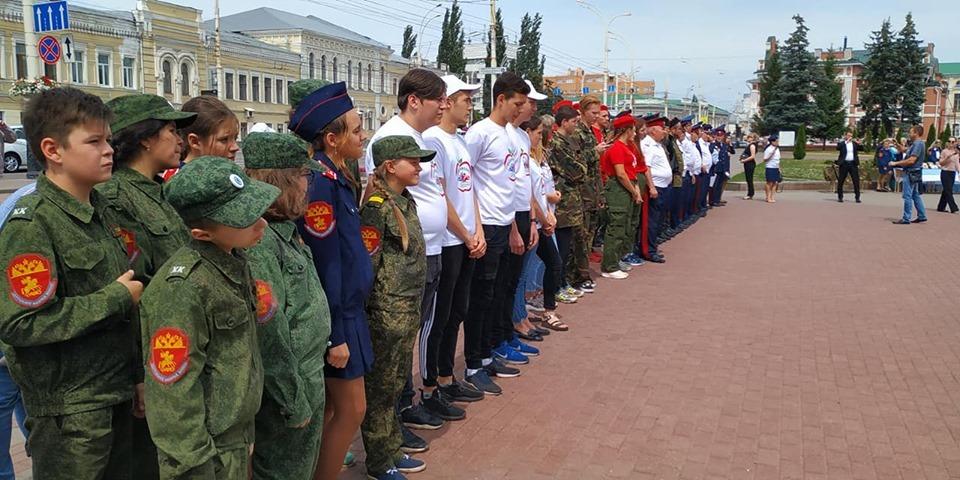 В Тамбове прошёл торжественный митинг, посвященный закрытию передвижной выставки о казачестве