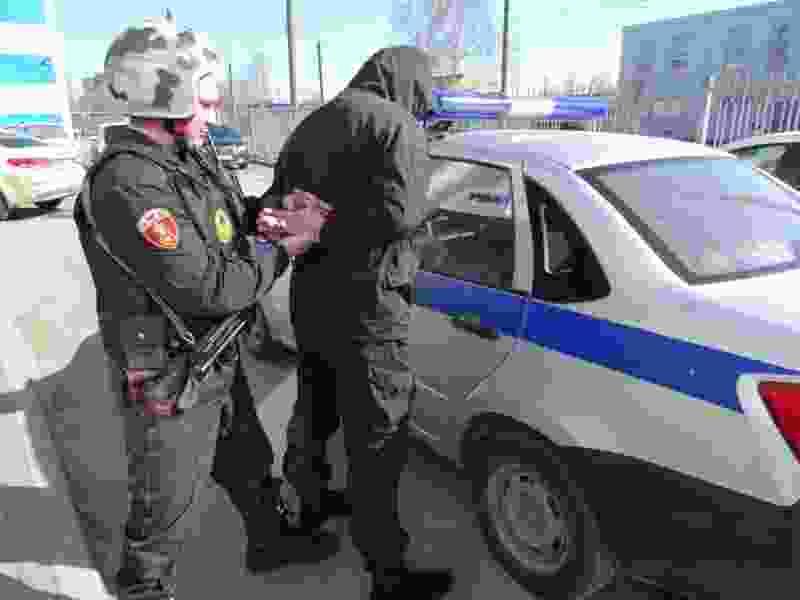 В Тамбове сотрудниками Росгвардии задержаны похитители рельс