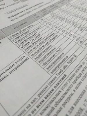 Все тамбовские управляющие компании должны перейти на оплату коммунальных платежей «месяц в месяц»