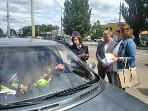 Автовладельцам напомнили о правилах перевозки детей