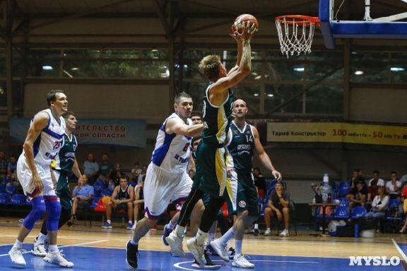 """Баскетболисты """"Тамбова"""" выиграли первые контрольные матчи в межсезонье"""