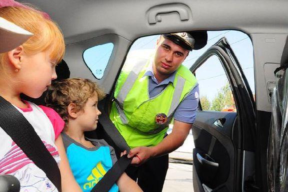 ГИБДД проверит, как тамбовские водители перевозят своих детей