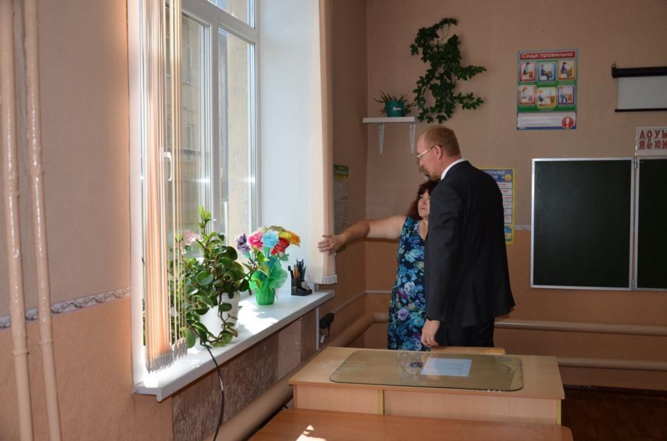 Глава Рассказово проверил готовность образовательных учреждений к новому учебному году