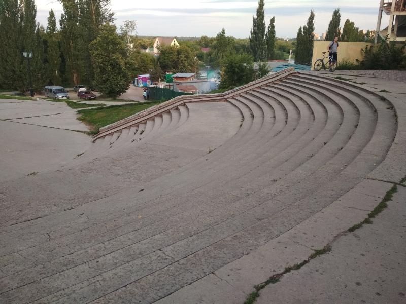 Лестничный спуск от парка культуры к Набережной ждёт масштабная реконструкция