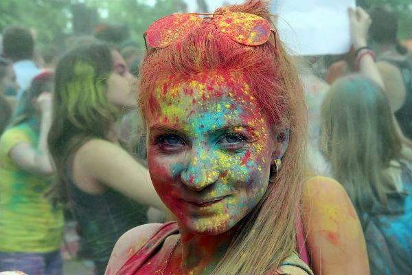 На следующих выходных пройдёт фестиваль красок ColorFest