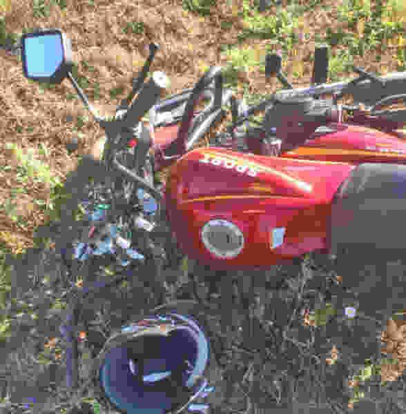 На трассе в Тамбовской области подросток на мопеде врезался в легковушку и вместе с другом попал в больницу