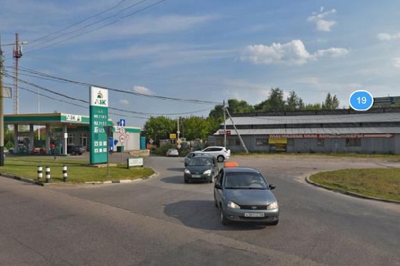 Поворот с Рассказовского шоссе в сторону парка Дружбы просят оборудовать светофором
