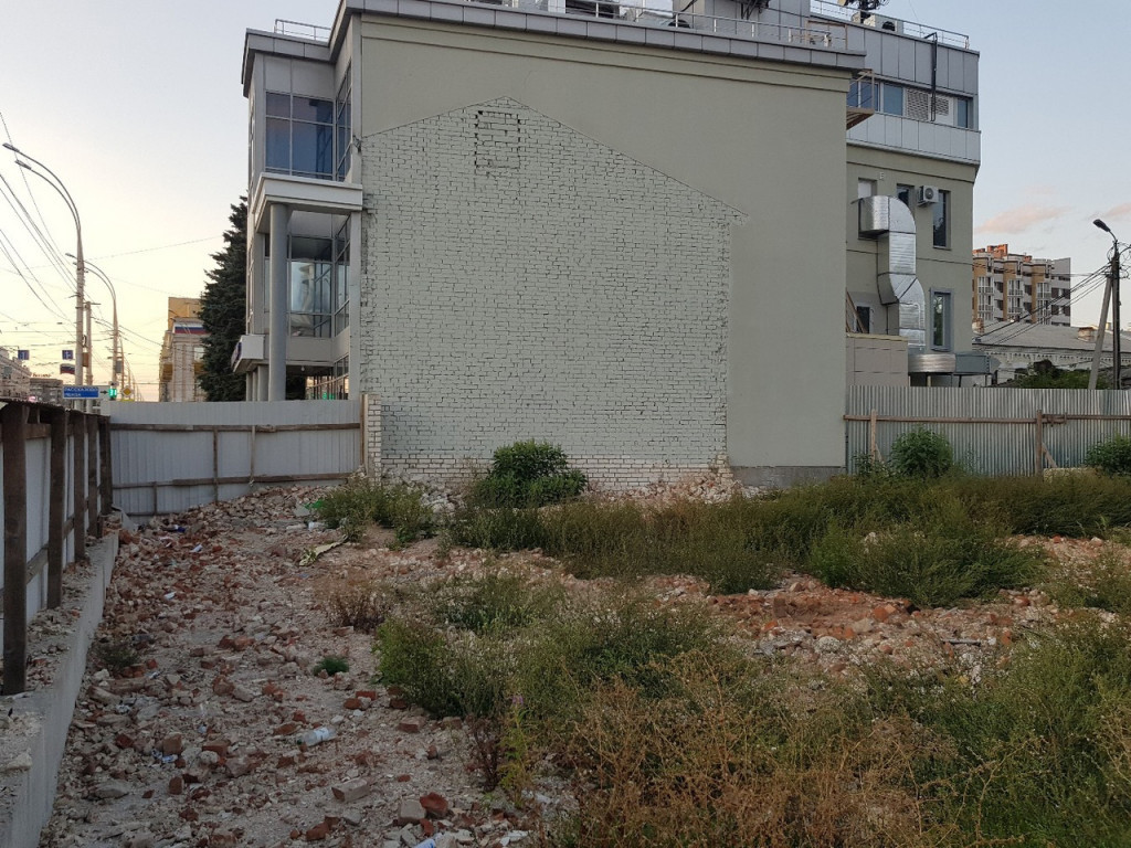 Рушили, рушили и наконец разрушили: бесследно исчезнувшее дореволюционное здание на Советской, 107 в Тамбове