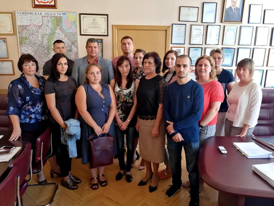 Сельские больницы Тамбовской области пополнились молодыми специалистами
