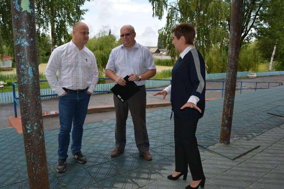"""Школу в Рассказовском районе преображают в рамках создания """"Точки роста"""""""