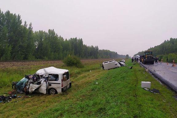 Стали известны подробности автокатастрофы с пятью погибшими в Мордовском районе