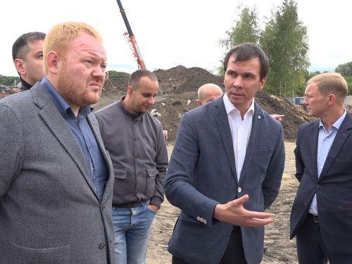 Строительство социальных объектов на контроле исполняющего полномочия главы Тамбова Дмитрия Самородина