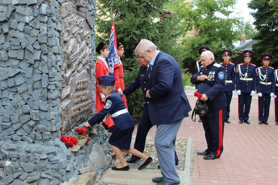 Тамбовчане почтили память российских воинов, погибших в Первой мировой войне