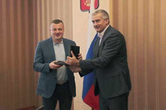Тамбовская делегация находится с визитом в республике Крым