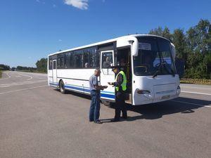 Тамбовские автоинспекторы проверили соблюдение правил перевозок пассажиров и грузов на транспорте