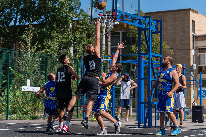 У тамбовских баскетболистов появилось новое место для проведения уличных соревнований